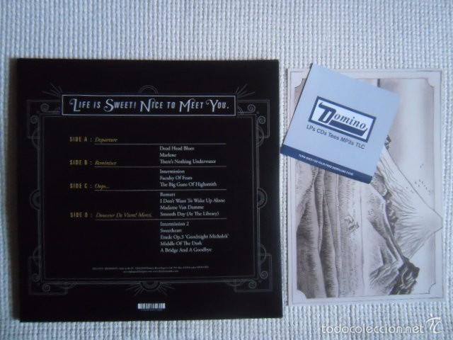 Discos de vinilo: LIGHTSPEED CHAMPION - LIFE IS SWEET! NICE TO MEET YOU 2 LP + ART PRINT + LINK - Foto 3 - 57387941