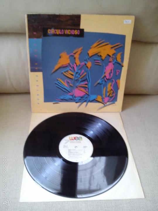 Discos de vinilo: CIRCULO VICIOSO -PORTERO DE NOCHE- (1986) LP DISCO VINILO - Foto 2 - 57388080