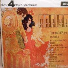Discos de vinilo: EDMUNDO RIOS - ARRIBA!. Lote 57390838