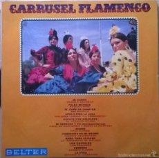 Discos de vinilo: VARIOS-CARRUSEL FLAMENCO, BELTER-22.398. Lote 57393950