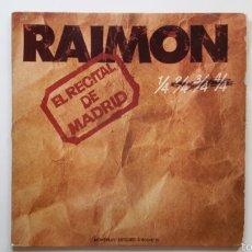 Discos de vinilo: RAIMON. EL RECITAL DE MADRID. 2 LP. MOVIEPLAY 1976. CON LIBRETO 8 PAG.. Lote 57398163
