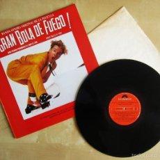 Discos de vinilo: ORIGINAL MOTION PICTURE - GREAT BALLS OF FIRE - VINILO ORIGINAL 1989 PRIMERA EDICION POLYDOR. Lote 57400112