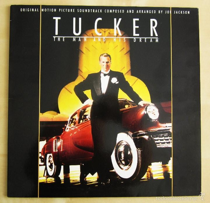 Discos de vinilo: ORIGINAL MOTION PICTURE - TUCKER (THE MAN AND HIS DREAM) - VINILO ORIGINAL 1988 AM RECORDS USA - Foto 2 - 57400433
