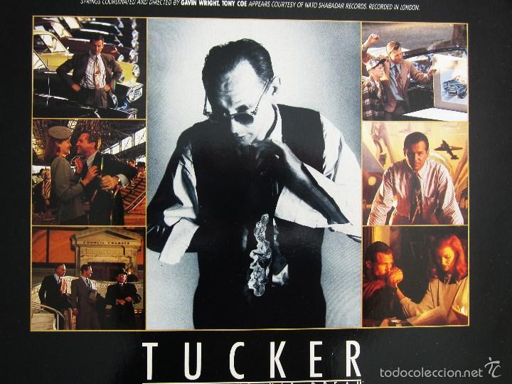 Discos de vinilo: ORIGINAL MOTION PICTURE - TUCKER (THE MAN AND HIS DREAM) - VINILO ORIGINAL 1988 AM RECORDS USA - Foto 5 - 57400433