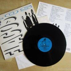 Discos de vinilo: LOS FLACOS - LOS FLACOS - ALBUM DEBUT VINILO ORIGINAL 1990 EDICION ES 3 RECORDS. Lote 57400827