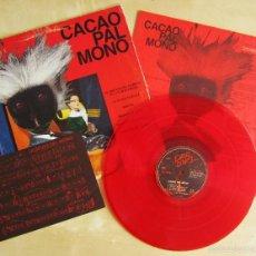 Discos de vinilo: CACAO PAL MONO - SI EXISTE EL COLOR... - MINI LP DEBUT VINILO ROJO ORIGINAL 1984 EDICION GIRA. Lote 57401358