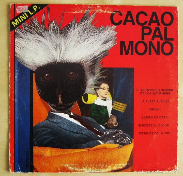 Discos de vinilo: CACAO PAL MONO - SI EXISTE EL COLOR... - MINI LP DEBUT VINILO ROJO ORIGINAL 1984 EDICION GIRA - Foto 3 - 57401358