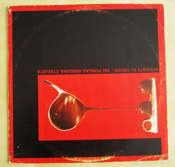 Discos de vinilo: CACAO PAL MONO - SI EXISTE EL COLOR... - MINI LP DEBUT VINILO ROJO ORIGINAL 1984 EDICION GIRA - Foto 5 - 57401358