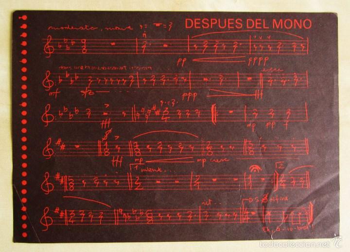 Discos de vinilo: CACAO PAL MONO - SI EXISTE EL COLOR... - MINI LP DEBUT VINILO ROJO ORIGINAL 1984 EDICION GIRA - Foto 8 - 57401358
