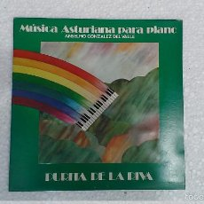 Discos de vinilo: LP MÚSICA ASTURIANA PARA PIANO PURITA DE LA RIVA ASTURIAS. Lote 57402796