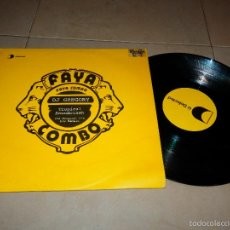 Discos de vinilo: FAYA COMBO DJ GREGORY TROPICAL SOUNDCLASH THE ORIGINAL MIX DAMELO EP DISCO DANCE HOUSE VINILO V3. Lote 57404002
