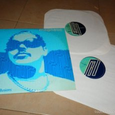 Discos de vinilo: MAGNETIC ILLUSIONS DJ SNEAK DOBLE EP DISCO DANCE HOUSE TECHNO V3. Lote 188610745