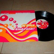 Discos de vinilo: STAR TRAXX DJ ALEX CLUB FONK EP DISCO DANCE HOUSE TRANCE TECHNO VINILO V3. Lote 57404365