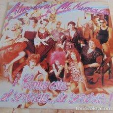 Discos de vinilo: ALMODOVAR Y MCNAMARA - COMO ESTA EL SERVICIO DE SEÑORAS - LP DISCOS VICTORIA 1983. Lote 57405333