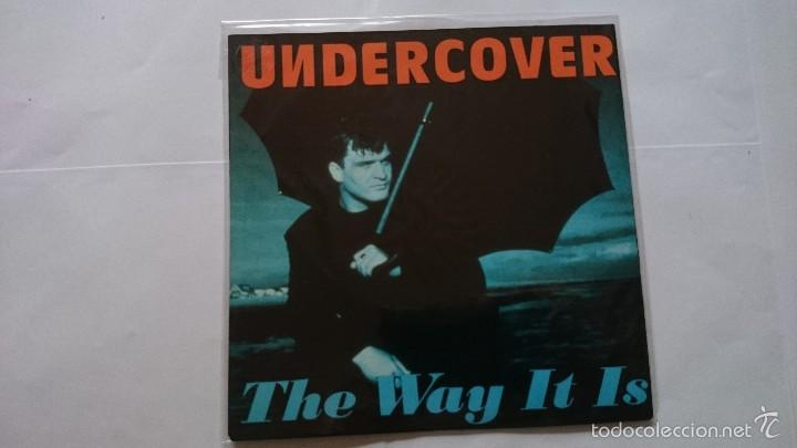 UNDERCOVER - THE WAY IT IS (B. HORNSBY) / THE WAY IT IS (DEEP UNDERCOVER MIX) (EDIC. ALEMANA 1993) (Música - Discos - Singles Vinilo - Techno, Trance y House)