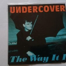 Discos de vinilo - UNDERCOVER - THE WAY IT IS (B. HORNSBY) / THE WAY IT IS (DEEP UNDERCOVER MIX) (EDIC. ALEMANA 1993) - 57405506