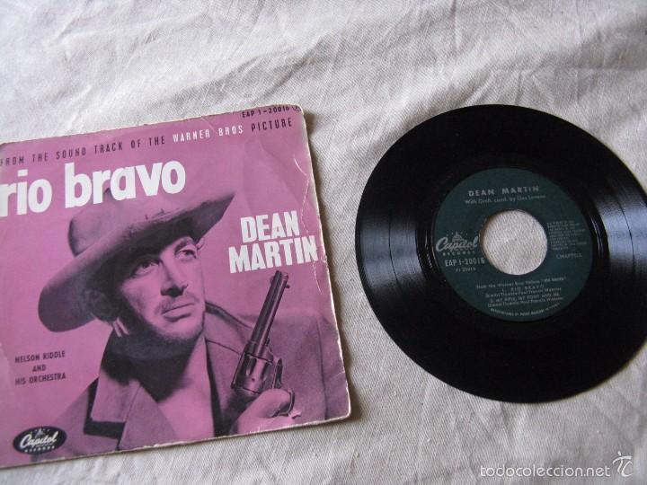 DEAN MARTIN - RIO BRAVO + 3 EP (Música - Discos de Vinilo - EPs - Bandas Sonoras y Actores)
