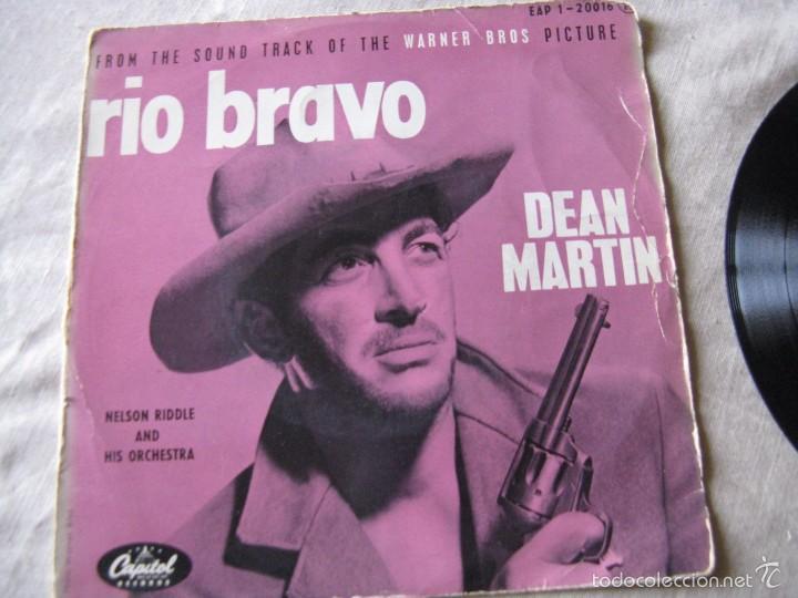 Discos de vinilo: DEAN MARTIN - RIO BRAVO + 3 EP - Foto 2 - 57405859