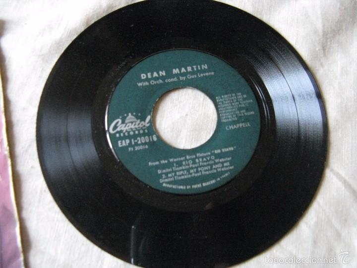Discos de vinilo: DEAN MARTIN - RIO BRAVO + 3 EP - Foto 3 - 57405859
