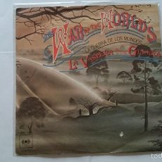Discos de vinilo: JEFF WAYNE (WAR OF THE WORLDS - GUERRA DE LOS MUNDOS) - THE EVE OF THE WAR / THE RED WEED (1978). Lote 57413789