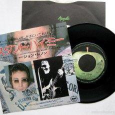 Discos de vinilo: JOHN LENNON - STAND BY ME / MOVE OVER MS. L - SINGLE APPLE RECORDS 1975 JAPAN (EDICIÓN JAPONESA) BPY. Lote 57419459