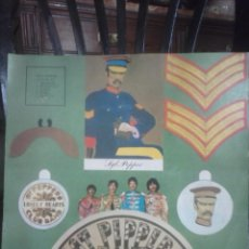 Discos de vinilo: THE BEATLES - SGT.PEPPERS CUT-OUTS.. Lote 57426673