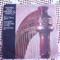 Discos de vinilo: HISTORIA DE LA MÚSICA CODEX VOL. II Nº 10 W. AMADEUS MOZART SINGLE 1966. Lote 57428371