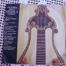 Discos de vinilo: HISTORIA DE LA MÚSICA CODEX VOL. II Nº 12 W. AMADEUS MOZART SINGLE 1966. Lote 57428418