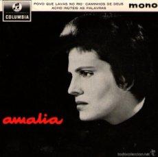 "Discos de vinilo: AMALIA RODRIGUES - EP VINILO 7"" - 3 TEMAS - EDITADO EN REINO UNIDO - COLUMBIA 1962. Lote 57431933"