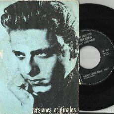 Discos de vinilo: EDDIE COCHRAN SINGLE - VERSIONES ORIGINALES - SUMMERTIME BLUES / TWENTY FLIGHT ROCK 1968.ESPAÑA.ESC. Lote 155878472