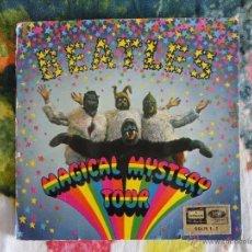 Discos de vinilo: THE BEATLES - MAGICAL MISTERY TOUR (DOBLE EP CON LIBRETO) // ORIGINAL ESPAÑA 1967 // 22 FOTOS . Lote 51027308