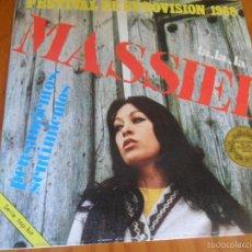 Disques de vinyle: MASSIEL - LA, LA, LA / PENSAMIENTOS, SENTIMIENTOS - EUROVISION 1968. Lote 57436828