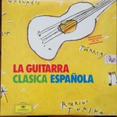 Discos de vinilo: NARCISO YEPES -LA GUITARRA CLASICA ESPAÑOLA 2LP DEUTSCHE GRAMMPHON 1992. Lote 57438409