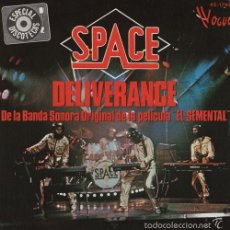 Discos de vinilo: SPACE DELIVERANCE SPANISH SINGLE 45 SPAIN 1978 FRENCH ELECTRONIC SYNTH POP. Lote 57438766