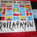Discos de vinilo: QUILAPAYUN AMERICA LATINA/TODO TIENE QUE VER 12 MX 1987 FONOMUSIC ESPAÑA SPAIN. Lote 57438969