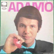 Discos de vinilo: ADAMO: LE NEON/ VIVRE/ UNE LARME AUX NUAGES/ DIS, MA MUSE. Lote 57439009