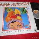 Discos de vinilo: PACO AGUILERA RUMBA FIESTA MIX I/RUMBA FIESTA MIX II MX 12 1991 HORUS EXCELENTE ESTADO RUMBAS. Lote 57439308