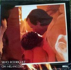 Discos de vinilo: SILVIO RODRÍGUEZ. OH MELANCOLÍA. EGREN-FONOMUSIC, ESP. 1988 (2 LP + DOBLE CUBIERTA Y DOBLE ENCARTE) . Lote 57439698