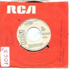 Discos de vinilo: RITA PAVONE / UNA VOCE (BANDA SONORA AMOR PROHIBIDO) / LA SUGGESTIONE (SINGLE PROMO 1972). Lote 57440009