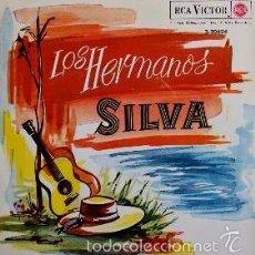Discos de vinilo: LOS HERMANOS SILVA - LA FLOR DE LA CANELA - 1962. Lote 57440971
