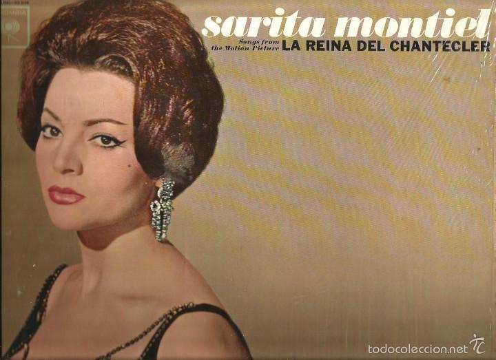 LP SARITA MONTIEL : LA REINA DEL CHANTECLER ( DISCO HIGH FIDELITY, EDITADO EN ESTADOS UNIDOS) (Música - Discos - LP Vinilo - Solistas Españoles de los 50 y 60)