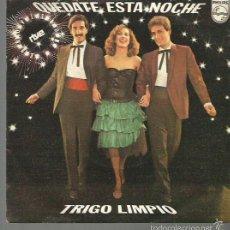 Discos de vinilo: TRIGO LIMPIO SINGLE SELLO PHILIPS AÑO 1980 EDITADO EN ESPAÑA FESTIVAL EUROVISION . Lote 57442025