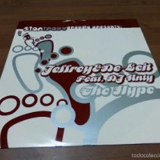 Discos de vinilo: JEFFREY & DE-LEIT FEAT DJ ANTY THE HYPE STARTRAXX EP DISCO DANCE VINILO HOUSE TECHNO V4I. Lote 57442165