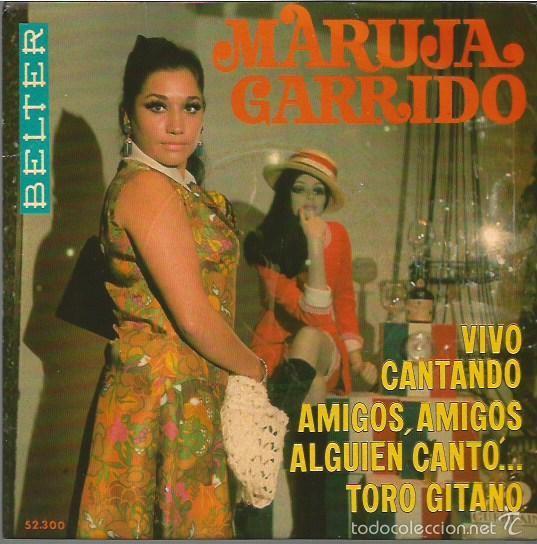 MARUJA GARRIDO EP SELLO BELTER AÑO 1969 EDITADO EN ESPAÑA FESTIVAL DE EUROVISION (Música - Discos de Vinilo - EPs - Festival de Eurovisión)