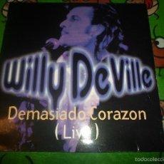 Discos de vinilo: DE WILLY DE VILLE - CORAZON-ORIGINAL . Lote 57471815