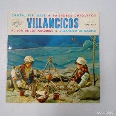 Discos de vinilo: VILLANCICOS. CANTA RIE BEBE. PASTORES CHIQUITOS. AL SON DE LOS PANDEROS. VILLANCICO DE MADRID TDKDS6. Lote 57472207