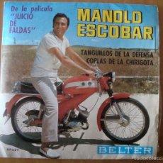 Discos de vinilo: SINGLE MANOLO ESCOBAR 1969. Lote 57474681