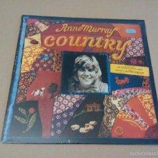 Discos de vinilo: ANNE MURRAY - COUNTRY (LP 1974, (0598) ST 11324). Lote 57474866