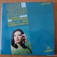 Discos de vinilo: SINGLE ROCIO JURADO 1968. Lote 57474868