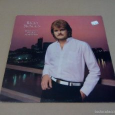 Discos de vinilo: RICKY SKAGGS - DON'T CHEAT IN OUR HOMETOWN (LP 1983, EPIC EPC 25654). Lote 57475190